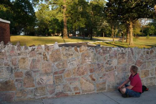 Graceland wall (2)