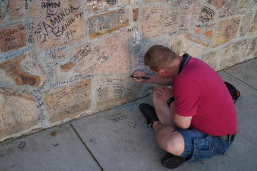 Graceland wall (4)