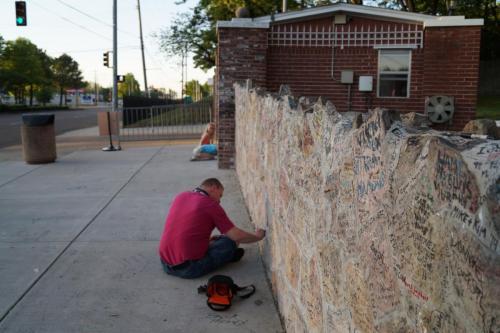 Graceland wall (8)